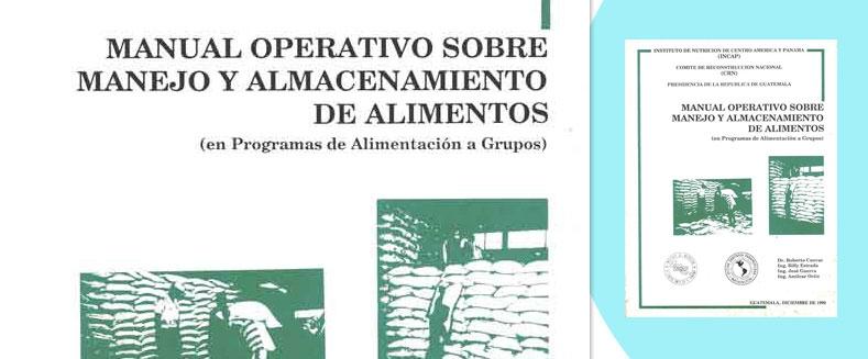 Manual Operativo Sobre Manejo y Almacenamiento de Alimentos