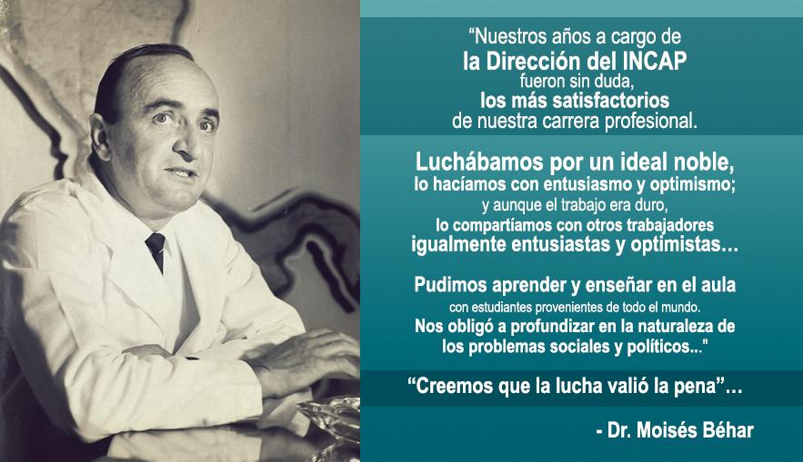 Frase Biografía Dr. Moisés Béhar
